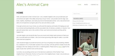 Alec's Animal Care